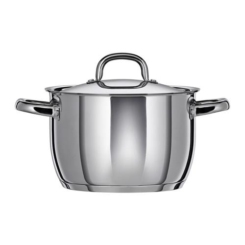 OUMBÄRLIG - 連蓋鍋 5升, 不銹鋼 | IKEA 香港及澳門 - PE516730_S4