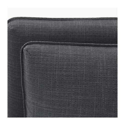 VALLENTUNA 3-seat modular sofa with sofa-bed