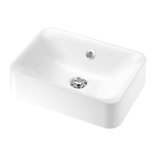 HÖRVIK - 櫃台板用洗手盆, 白色   IKEA 香港及澳門 - PE643802_S4