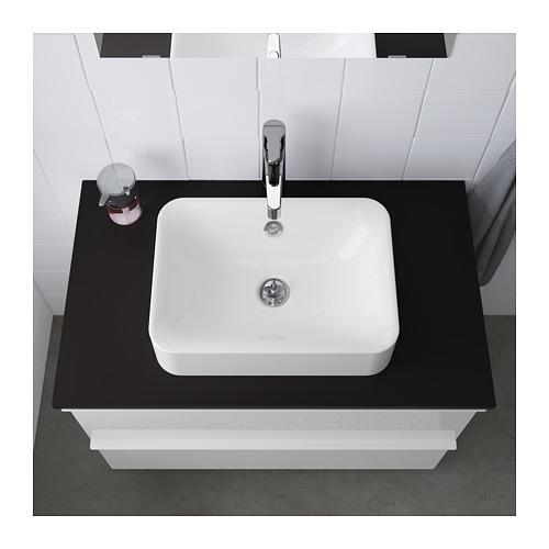 HÖRVIK - 櫃台板用洗手盆, 白色   IKEA 香港及澳門 - PE643803_S4