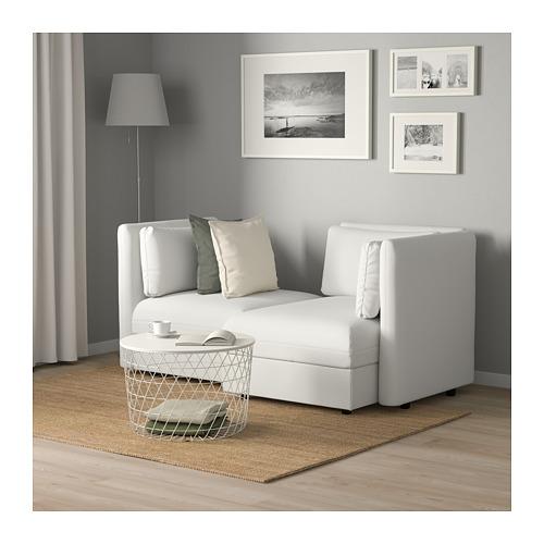 VALLENTUNA - 2-seat modular sofa, with storage/Murum white | IKEA Hong Kong and Macau - PE691183_S4