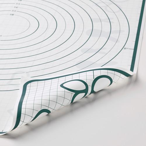 BAKTRADITION - baking mat, white/turquoise | IKEA Hong Kong and Macau - PE790778_S4