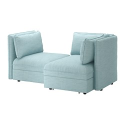 VALLENTUNA - 2-seat modular sofa with sofa-bed, and storage/Hillared light blue | IKEA Hong Kong and Macau - PE691203_S3