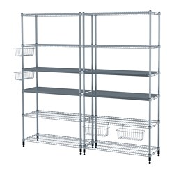 OMAR - 2 shelf sections, 197x36x181 cm | IKEA Hong Kong and Macau - PE691226_S3