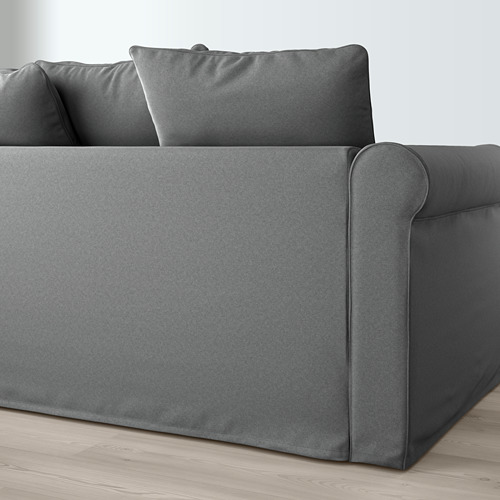 GRÖNLID - corner sofa, 4-seat, with open end/Ljungen medium grey | IKEA Hong Kong and Macau - PE669618_S4