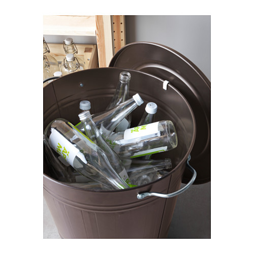 KNODD - bin with lid, grey | IKEA Hong Kong and Macau - PE579645_S4