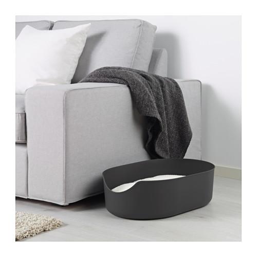 LURVIG - 貓砂盆, 黑色   IKEA 香港及澳門 - PE643947_S4