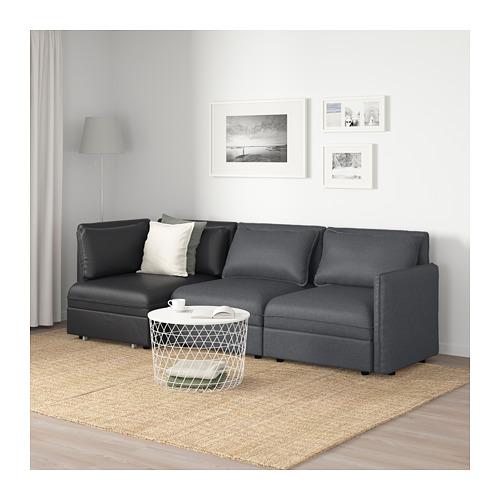 VALLENTUNA 3座位組合式梳化連梳化床