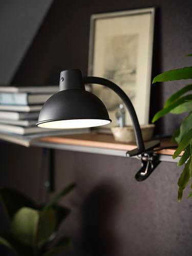 SKURUP - 夾式射燈, 黑色 | IKEA 香港及澳門 - PH177680_S4