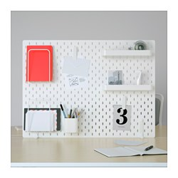 SKÅDIS - pegboard combination, white | IKEA Hong Kong and Macau - PE644139_S3