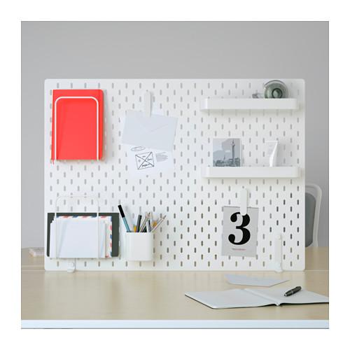 SKÅDIS - 洞洞板套裝, 白色   IKEA 香港及澳門 - PE644139_S4