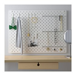 SKÅDIS - pegboard combination, white | IKEA Hong Kong and Macau - PE644140_S3