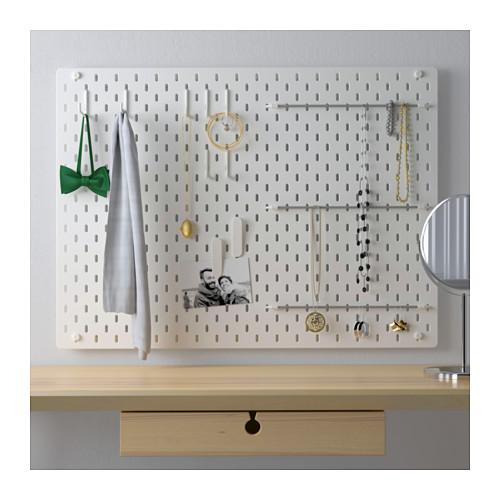 SKÅDIS - 洞洞板套裝, 白色   IKEA 香港及澳門 - PE644140_S4
