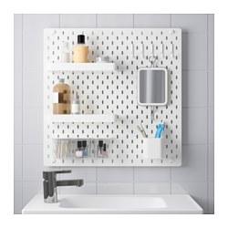 SKÅDIS - 洞洞板套裝, 白色 | IKEA 香港及澳門 - PE644141_S3