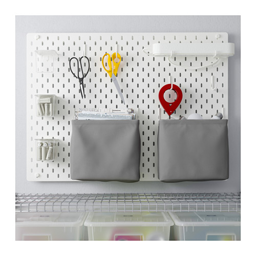 SKÅDIS - 洞洞板套裝, 白色   IKEA 香港及澳門 - PE644146_S4