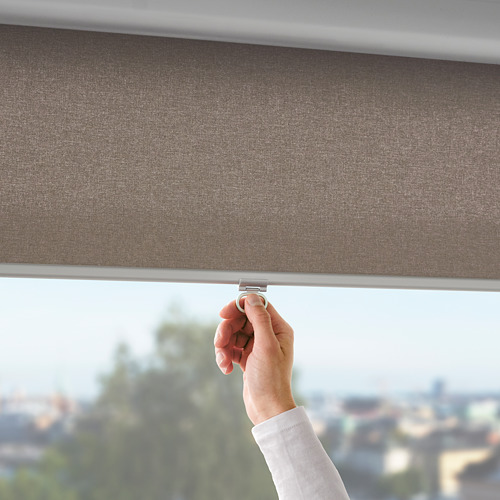 TRETUR - 遮光捲軸簾, 120x195cm, 褐色 | IKEA 香港及澳門 - PE788504_S4