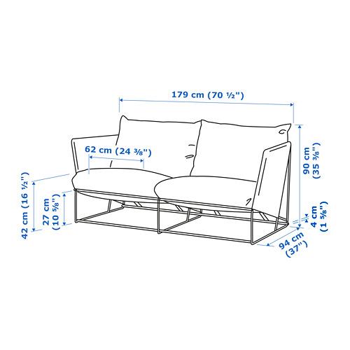 HAVSTEN - 2-seat sofa, in/outdoor, beige | IKEA Hong Kong and Macau - PE734371_S4