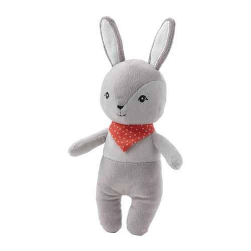 GULLIGAST - squeaky soft toy, grey/red | IKEA Hong Kong and Macau - PE788549_S4