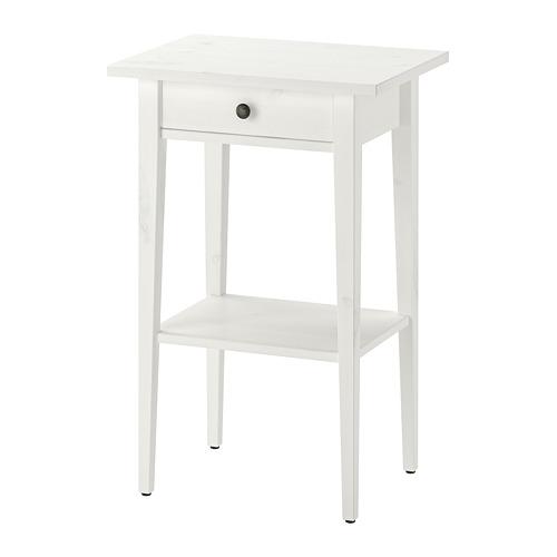 HEMNES - 床頭几, 染白   IKEA 香港及澳門 - PE691831_S4