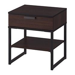 TRYSIL - 床頭几, 深褐色/黑色 | IKEA 香港及澳門 - PE691836_S3