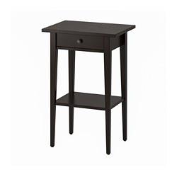 HEMNES - bedside table, black-brown | IKEA Hong Kong and Macau - PE691842_S3