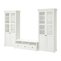 LIATORP - TV storage combination, white | IKEA Hong Kong and Macau - PE692092_S3