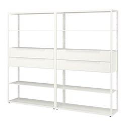 FJÄLKINGE - 層架組合連抽屜, 白色 | IKEA 香港及澳門 - PE692096_S3