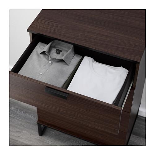 TRYSIL - chest of 4 drawers, dark brown | IKEA Hong Kong and Macau - PE644352_S4