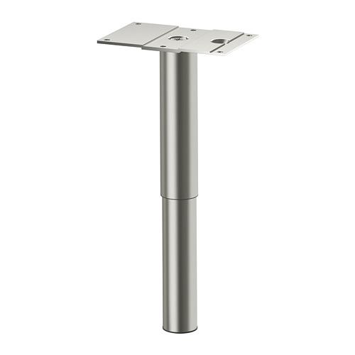 GODMORGON - leg, round/stainless steel   IKEA Hong Kong and Macau - PE691971_S4