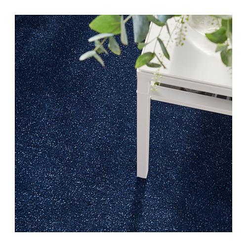 TYVELSE - 短毛地氈, 深藍色   IKEA 香港及澳門 - PH156201_S4