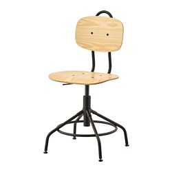 KULLABERG - swivel chair, pine/black | IKEA Hong Kong and Macau - PE734575_S3