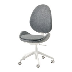 HATTEFJÄLL - office chair, Gunnared medium grey | IKEA Hong Kong and Macau - PE734576_S3