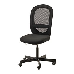 FLINTAN - office chair, Vissle black | IKEA Hong Kong and Macau - PE734581_S3