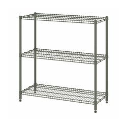 OMAR - shelving unit, grey-green | IKEA Hong Kong and Macau - PE788596_S3