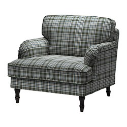 STOCKSUND - armchair, Segersta multicolour/black/wood | IKEA Hong Kong and Macau - PE692000_S3