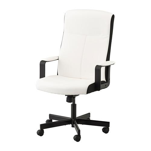 MILLBERGET - swivel chair, Kimstad white   IKEA Hong Kong and Macau - PE734582_S4
