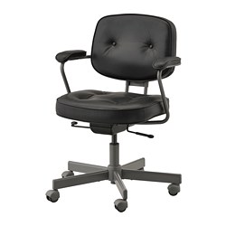 ALEFJÄLL - office chair, Glose black | IKEA Hong Kong and Macau - PE734598_S3