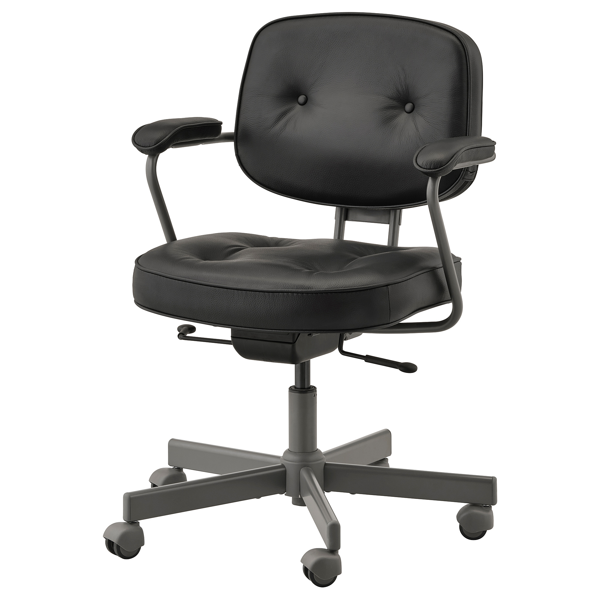 ALEFJÄLL - Office Chair, Glose Black