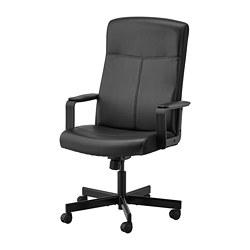 MILLBERGET - swivel chair, Bomstad black | IKEA Hong Kong and Macau - PE734602_S3