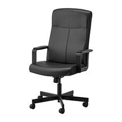 MILLBERGET - 旋轉椅, Bomstad 黑色 | IKEA 香港及澳門 - PE734602_S3