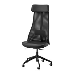 JÄRVFJÄLLET - office chair, Glose black | IKEA Hong Kong and Macau - PE734574_S3