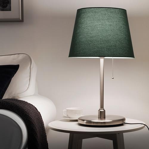 KRYSSMAST - 座檯燈座, 鍍鎳   IKEA 香港及澳門 - PE734620_S4