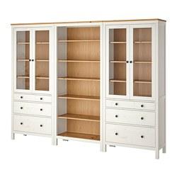HEMNES - 貯物組合連門/抽屜, 染白色/淺褐色   IKEA 香港及澳門 - PE776180_S3