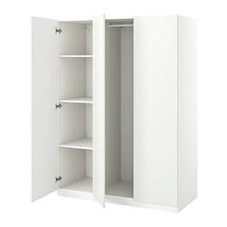 PAX/FORSAND - wardrobe combination, white | IKEA Hong Kong and Macau - PE833634_S3