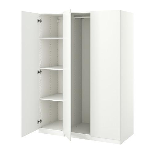 PAX/FORSAND - 衣櫃組合, 白色   IKEA 香港及澳門 - PE833634_S4
