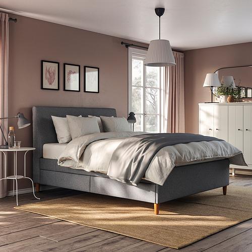 IDANÄS - 特大雙人儲物床, Gunnared 深灰色 | IKEA 香港及澳門 - PE833654_S4