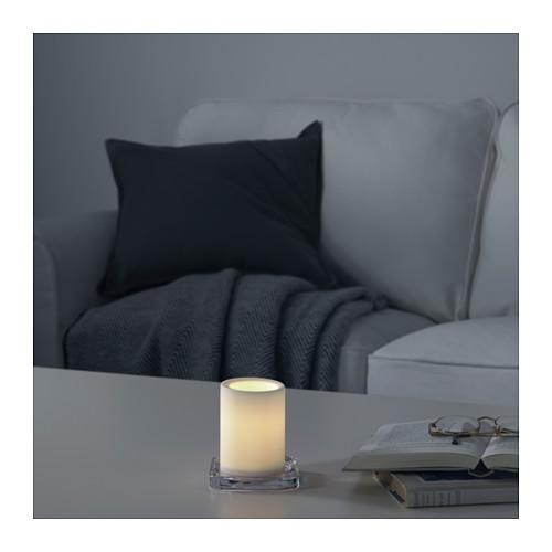 MOGNAD LED柱形蠟燭