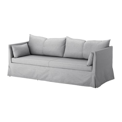 SANDBACKEN cover for 3-seat sofa