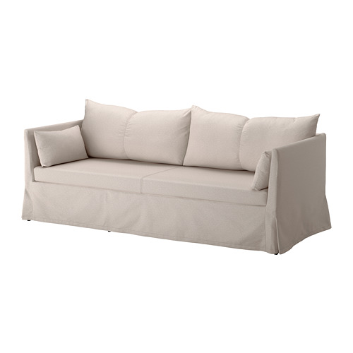SANDBACKEN cover for 3-seat sofa