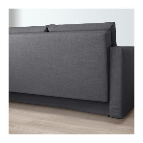 FRIHETEN - three-seat sofa-bed with storage, Skiftebo dark grey | IKEA Hong Kong and Macau - PE644660_S4